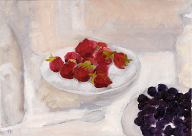 Strawberries and Blackberries